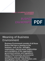 Business Environment- Chapter 1