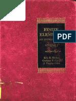 Finite Elements - An Introduction - Becker Carey
