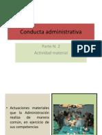 Conducta Administrativa 2 II-2013
