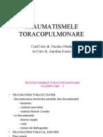 TRAUMATISME TORACO-PULMONARE