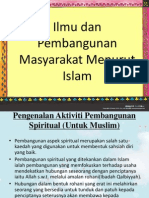 Ilmu Dan Pembangunan Masyarakat Menurut Islam