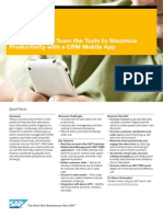 Give Your Sales Team the Tools to Maximize Productivity With a CRM Mobile App