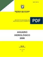 anuario hidrologico 2006