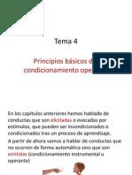 Principios Básicos Del Condicionamiento Operante
