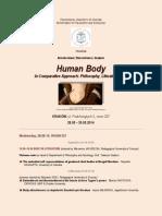 2014 human body seminar up program