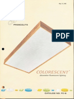 Prescolite Colorescent Lighting Catalog FC-2 1965