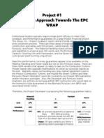 A Creative Approach Towards the EPC WRAP