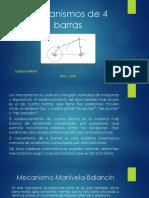 Mecanismos de 4 Barras - Ceron Carlos