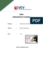ENSAYO Presupuesto Flexible - ( Ind-ss15)