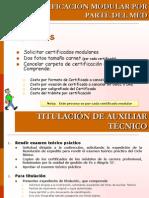 Certificación titulacion