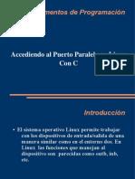 Puerto Paralelo en Linux