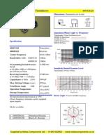 datasheet ultrasonik