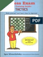 50175492 Chess Exam and Training Guide Tactics Igor Khmelnitskyf