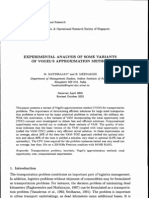 AsiarPaicific Journal of Operational Research Vol. 21, No. 4 (2004)
