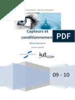 Capteurs Et Conditionneurs - Chap1 La Chaîne d'Acquisition Des Données