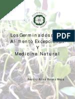 Los Germinados Como Alimento Excepcional y Medicina Natural 2 Edicion