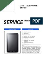 Samsung Gt-p1000 Service Manual r1