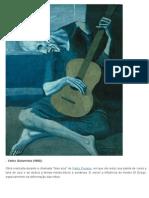 Velho Guitarrista Pablo Picasso