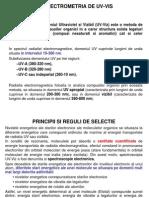 Spectrometria de Uv-Vis