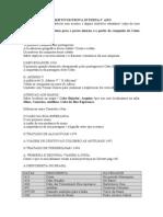 Datas & Objetivos 5' Ano