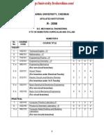 Mech Syllabus II- Viii Sem r2008