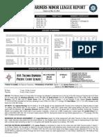05.24.14 Mariners Minor League Report