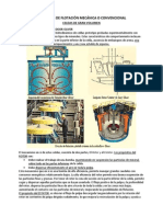 Máquinas de Flotación Mecánica o Convencional (de Gran Volumen)