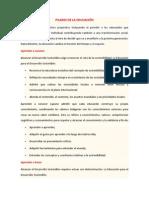 6. La Educación Encierra Un Tesoro. 5 Pilares (Resumen)