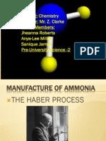 - Ammonia