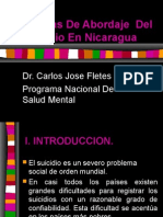 Normas de Abordaje Del Suicidio en Nicaragua