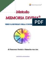 Metodo Memoria Divina Di Natascha Von Arx Francesco Ferzini eBook 1 (1)