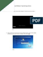 Instalacija Windows 7 Operativnog Sistema