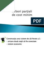 Curs Arbore partial de cost minim - PRIM si Kruskal
