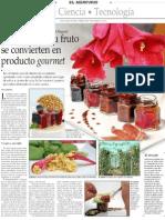 El Copihue y Su Fruto Se Convierten en Producto Gourmet