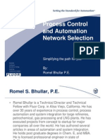 Automation Network Selection - IsA