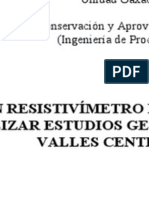 Resistivimeter Ct