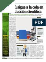 Peru Produccion Cientifica Publimetro 21-05-14