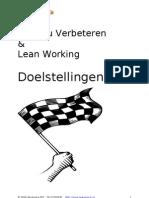Lean Doelstellingen (W8)