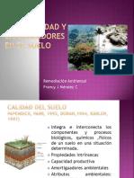 Biodiversidad y Bioindicadores en El Suelo[1]