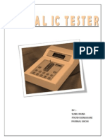 Ic Tester Report