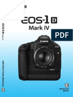 Canon EOS 1D Mark IV Owners Manual