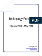 Lindsey Freer's Technology Portfolio