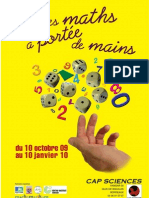 "Flyer ""Les maths à portée de main"""