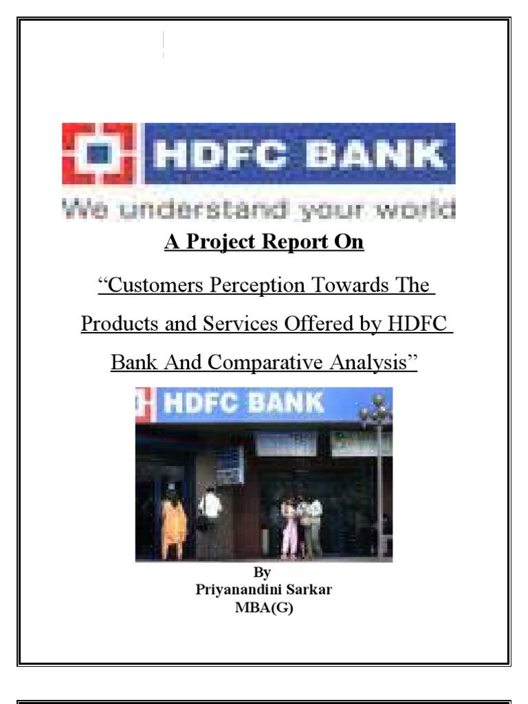 Hdfc Project | Debit Card | Banks