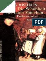31335392 Akunin Boris Die Schoenheit Der Toten Maedchen