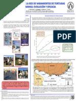 12 años de la red de varamientos de tortugas marinas en Uruguay.