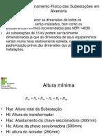 Dimensionamento Físico Das Subestações Em Alvenaria