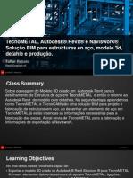 VirtualPresentation_5700_AB5700_TecnoMETAL e Autodesk® Revit® Structure