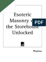 Phylotus - Esoteric Masonry or the Storehouse Unlocked (1)