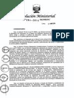 r.m Nº 204-2014-Minedu-21!05!2014 Evaluación Al Personal Directivo